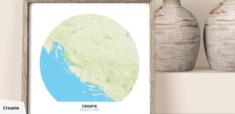 poster croatie